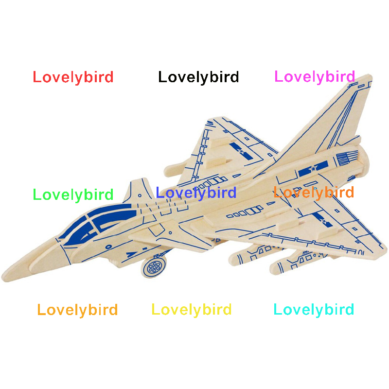 Lovelybird Toys 3d puzzle military company for present-1