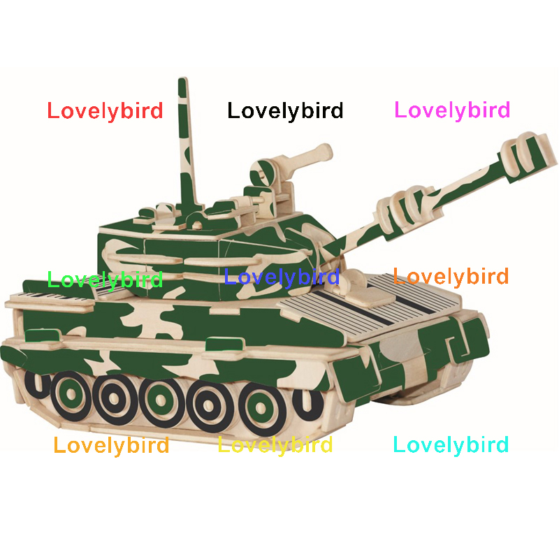 Lovelybird Toys 3d puzzle military supply for business-1