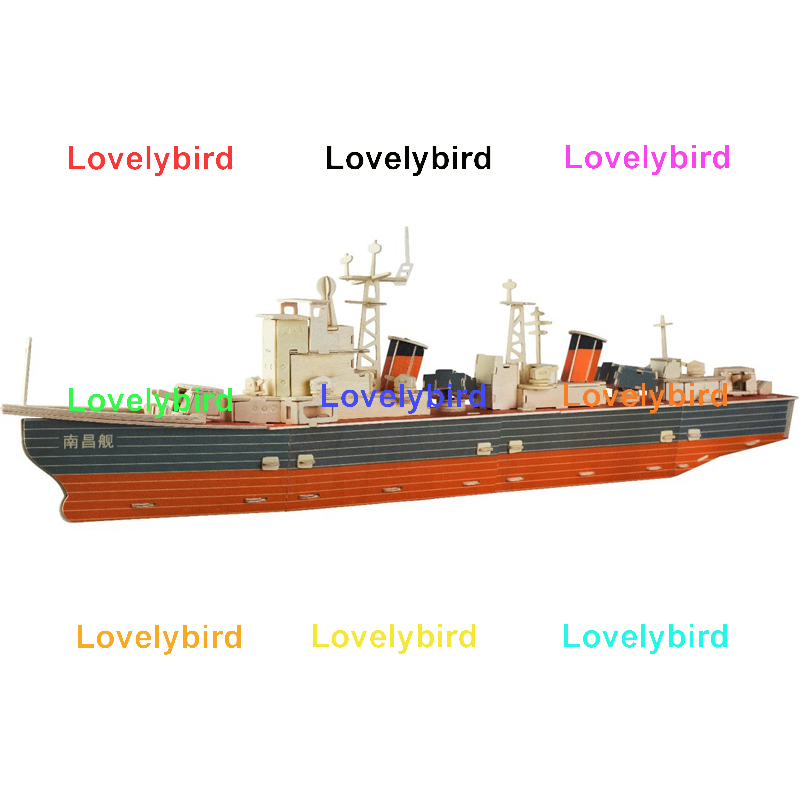 Lovelybird Toys 3d puzzle military factory for kids-1