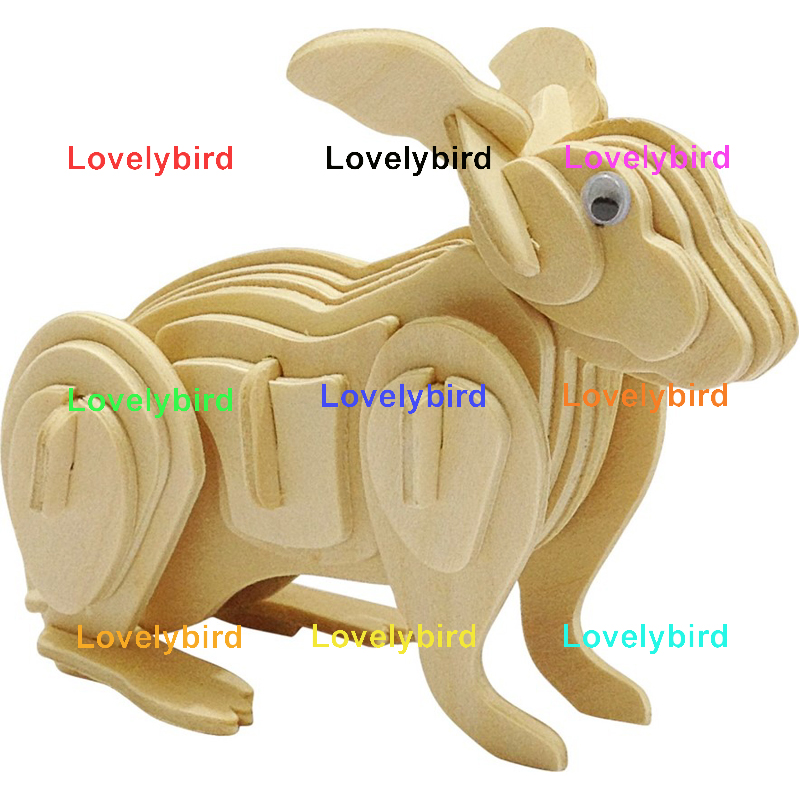 Lovelybird Toys new 3d wooden puzzle animals supply for business-1