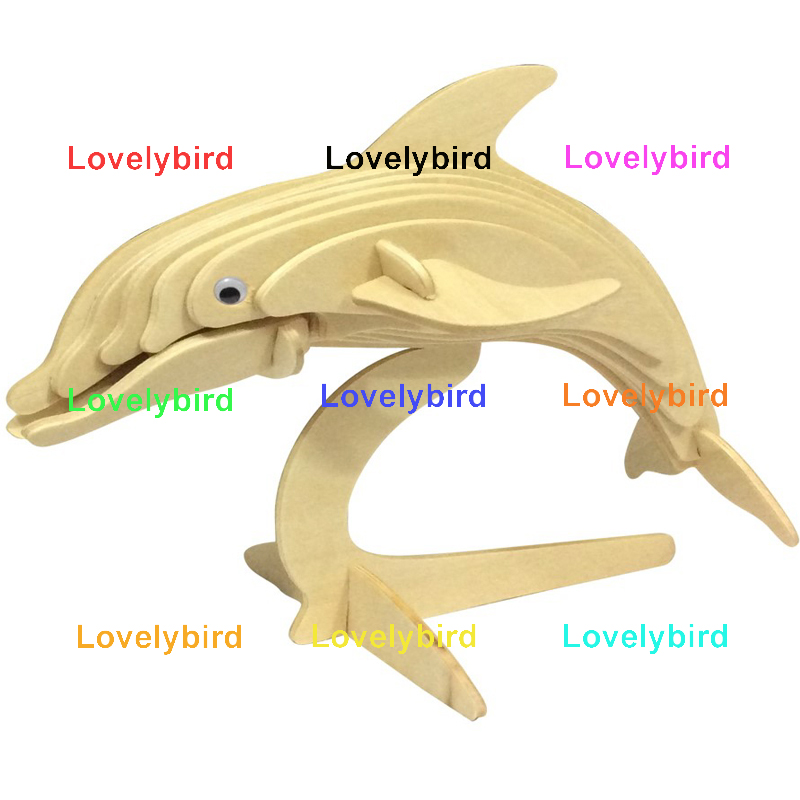 Lovelybird Toys 3d wooden animal puzzle company for present-1
