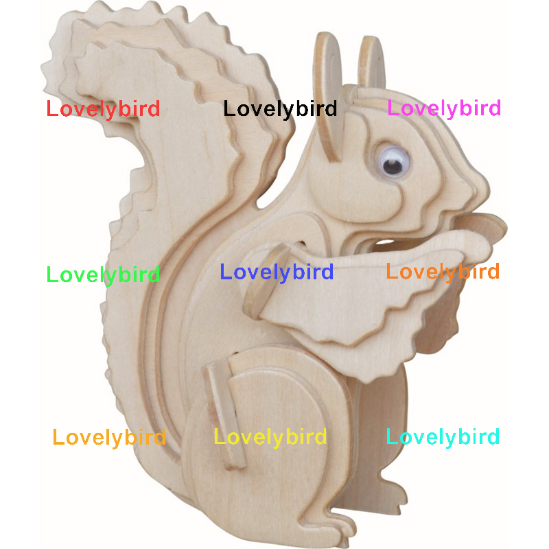 Lovelybird Toys 3d wooden puzzle animals company for entertainment-1