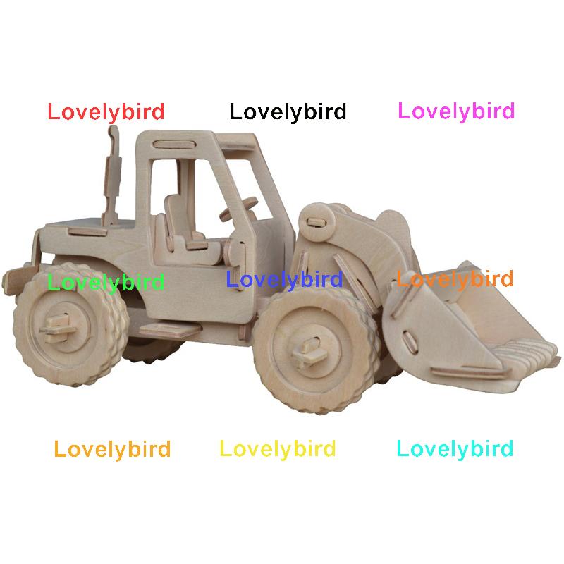 Lovelybird Toys custom 3d truck puzzle factory for present-1