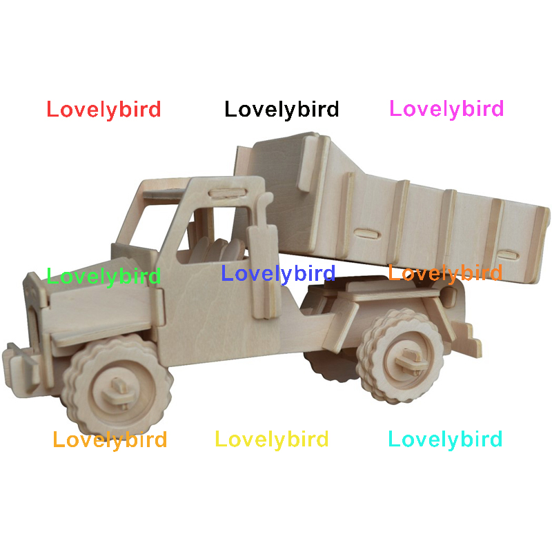 Lovelybird Toys best 3d truck puzzle manufacturers for present-1