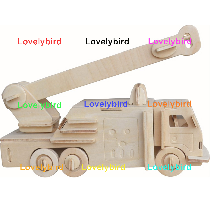 best 3d puzzle truck factory for present-1