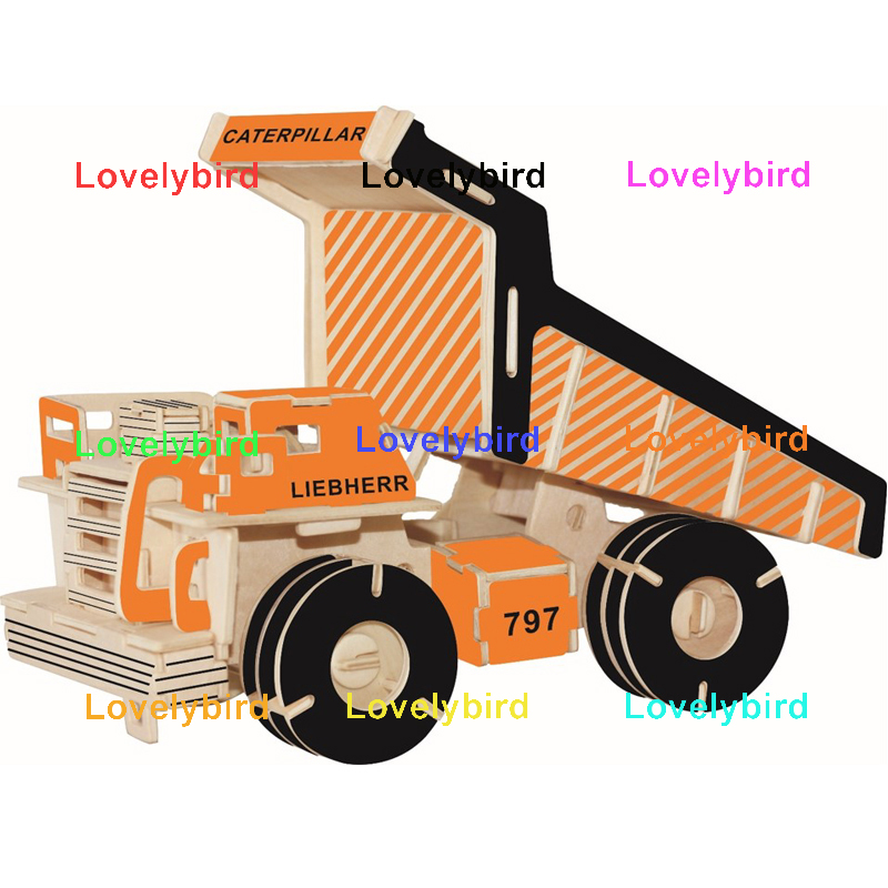 Lovelybird Toys high-quality 3d puzzle truck company for adults-1