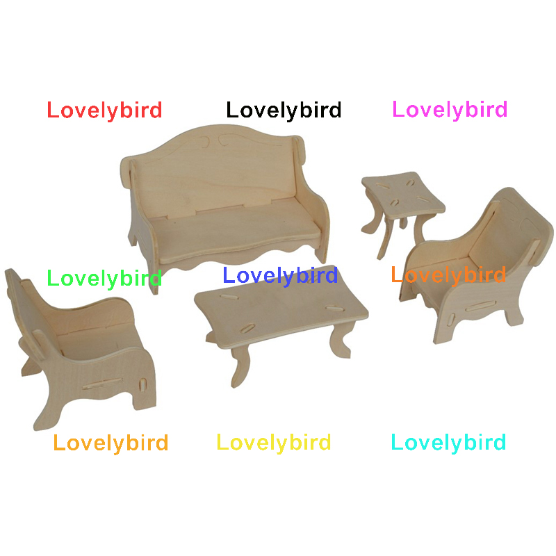Lovelybird Toys new 3d puzzle furniture factory for game-1