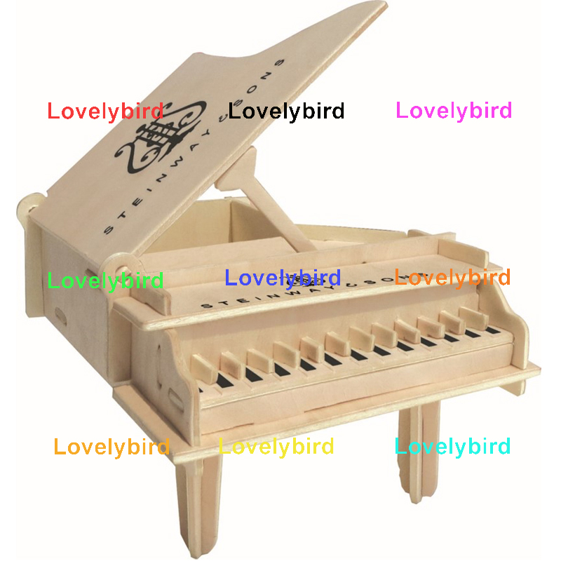 custom 3d wooden puzzle dollhouse furniture factory for game-1