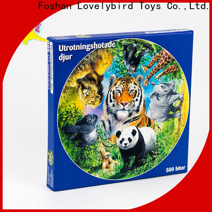 Lovelybird Toys best jigsaw puzzles manufacturers for entertainment