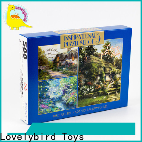 Lovelybird Toys lenticular new jigsaw puzzles suppliers for kids
