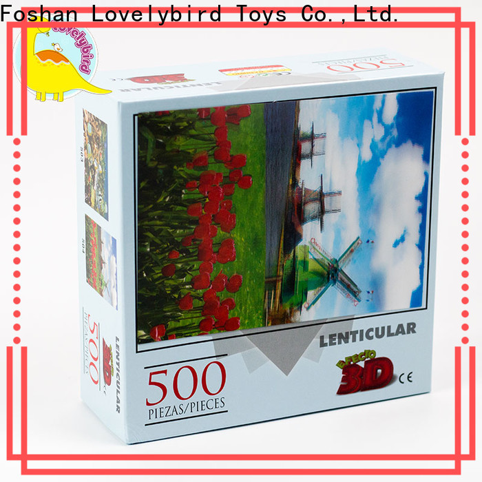 Lovelybird Toys high-quality 500 jigsaw puzzles manufacturers for kids