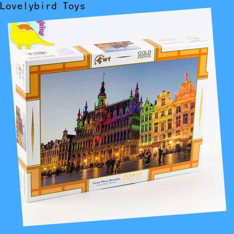 Lovelybird Toys new jigsaw puzzles supply for adult