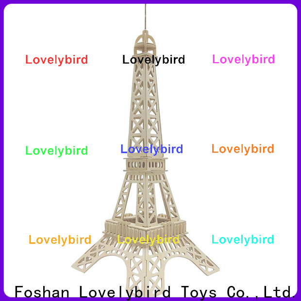 Lovelybird Toys top 3d woodcraft puzzle factory for business