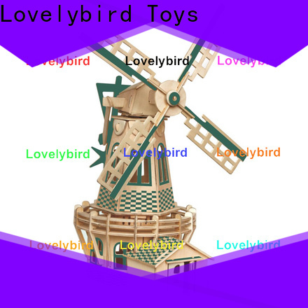 Lovelybird Toys best 3d wooden puzzle factory for sale