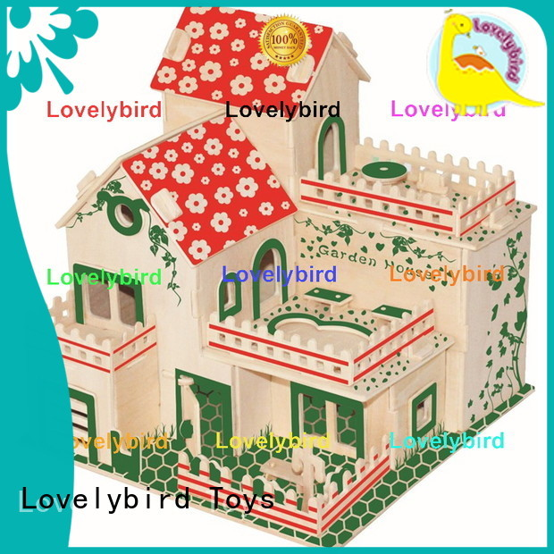 Lovelybird Toys latest 3d building puzzle supply for adults
