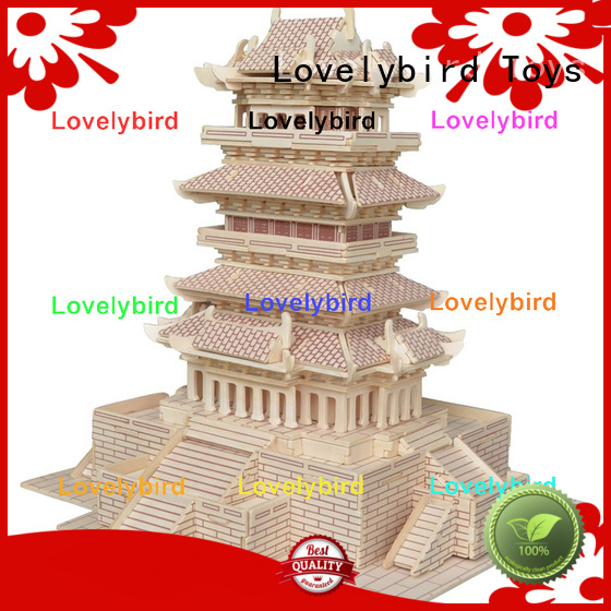 Lovelybird Toys good selling 3d building puzzle supply for kids