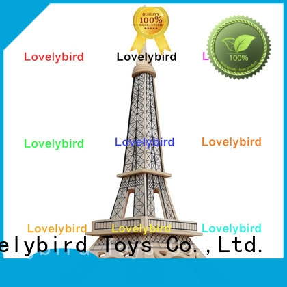 Lovelybird Toys 3d building puzzle supply for adults