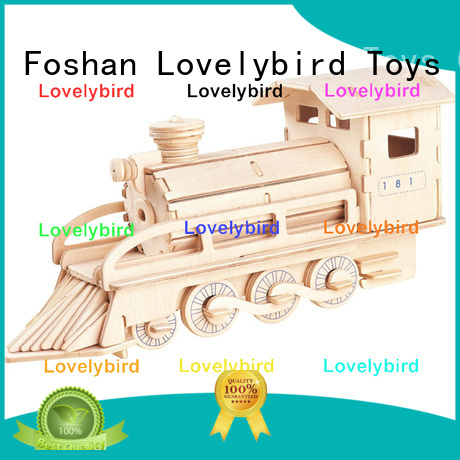 Lovelybird Toys 3d wooden puzzle ship supply for adults