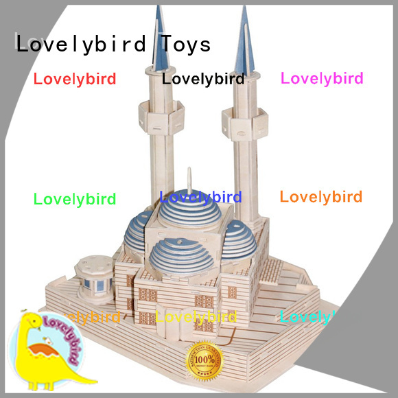 Lovelybird Toys 3d building puzzle manufacturers for kids