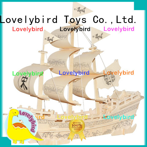 Lovelybird Toys 3d airplane puzzle manufacturers for entertainment