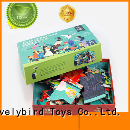 Lovelybird Toys new 48 piece puzzle supplier for present