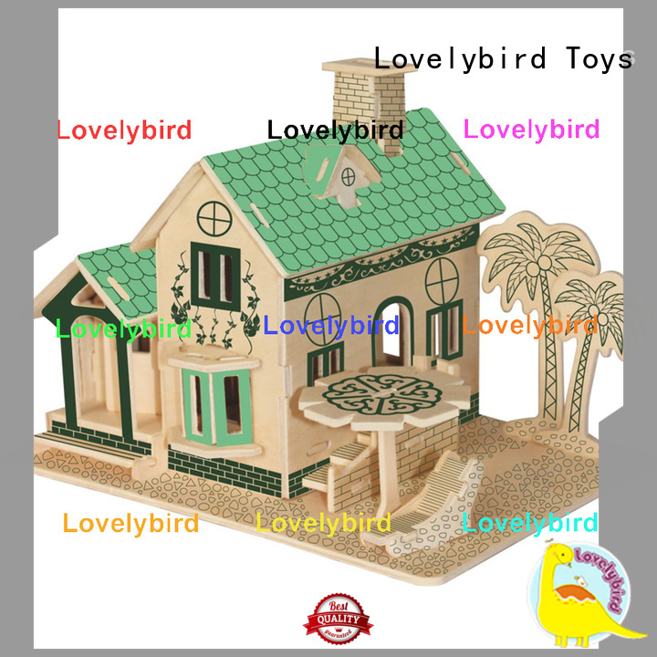 Lovelybird Toys 3d building puzzle manufacturers for sale