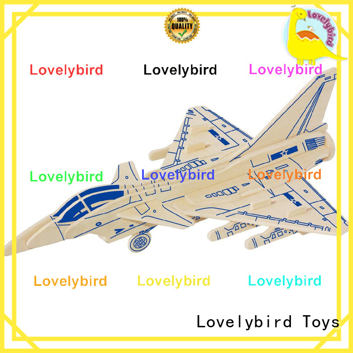 Lovelybird Toys custom 3d puzzle military company for business
