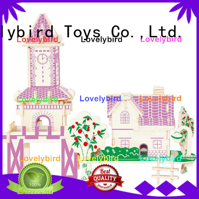 Lovelybird Toys latest 3d building puzzle supply for business