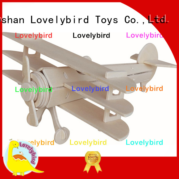 Lovelybird Toys new 3d wooden puzzle car manufacturers for business