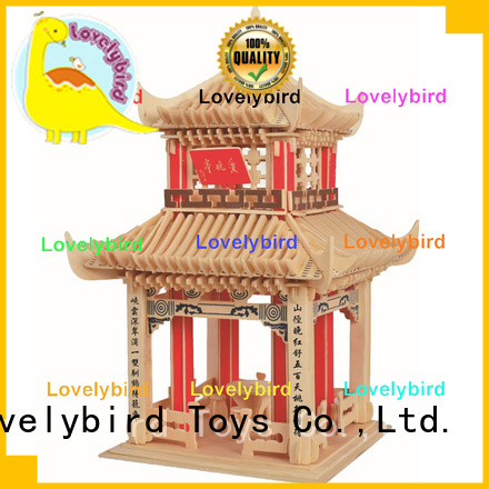 Lovelybird Toys top 3d building puzzle suppliers for adults