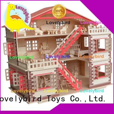 Lovelybird Toys custom 3d building puzzle company for adults