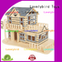 high-quality 3d wooden puzzle house supply for sale