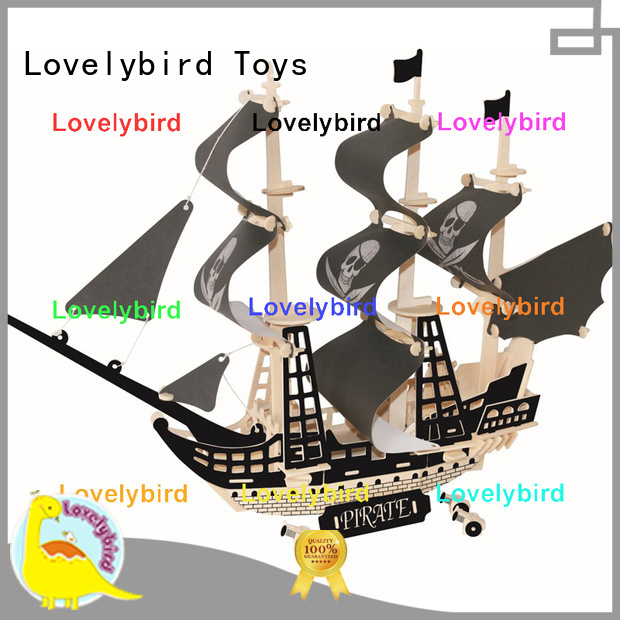 wholesale 3d wooden puzzle ship suppliers for adults