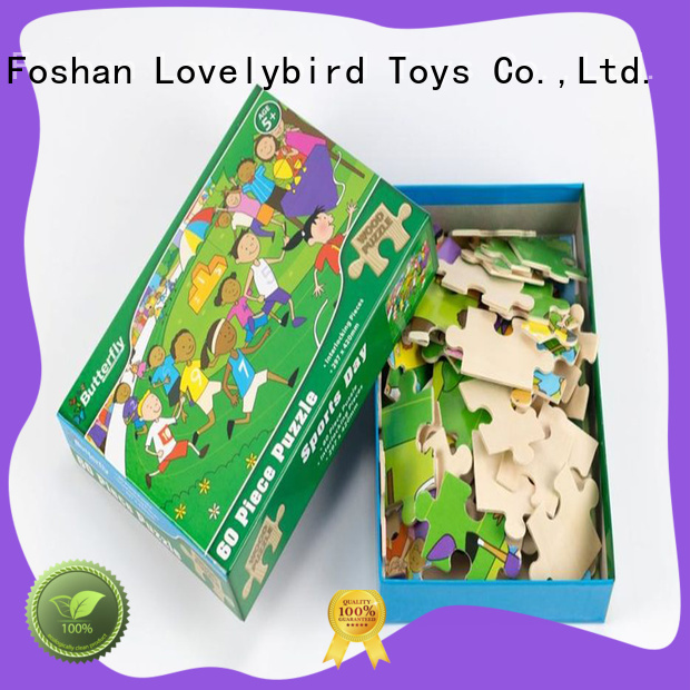 Lovelybird Toys wooden jigsaw puzzles for adults toy for entertainment