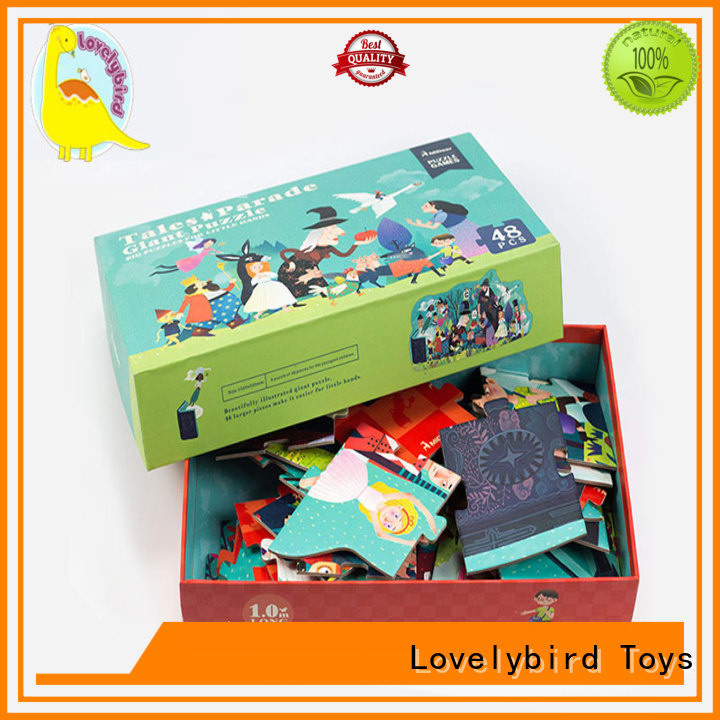 Lovelybird Toys funny cool jigsaw puzzles manufacturer for present