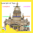 hot sale 3d wooden house puzzles factory for adults