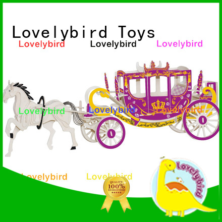 Lovelybird Toys top 3d wooden puzzle car factory for entertainment