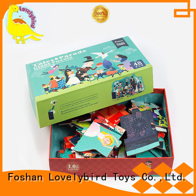 funny 48 piece puzzle hot sale for entertainment Lovelybird Toys