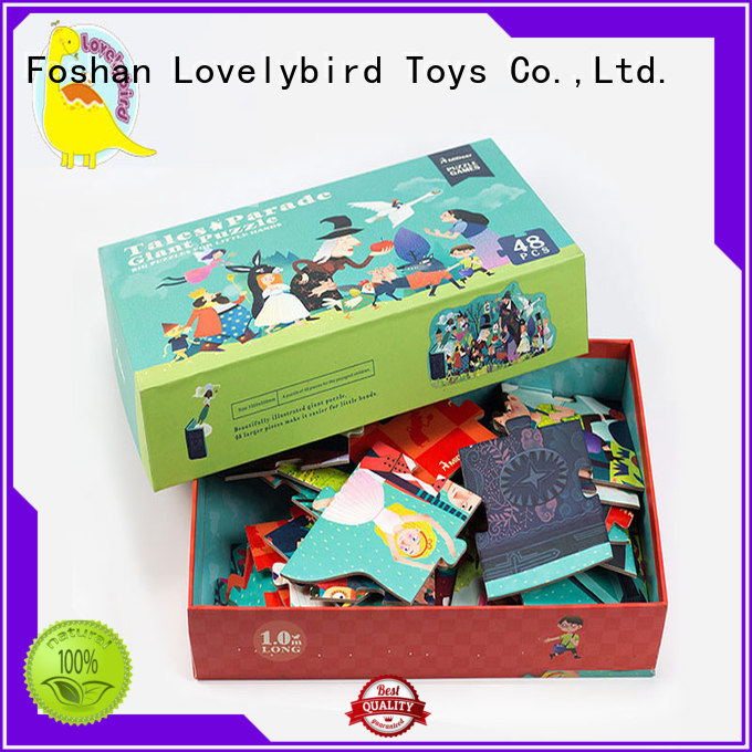 Lovelybird Toys funny cool jigsaw puzzles supplier for kids