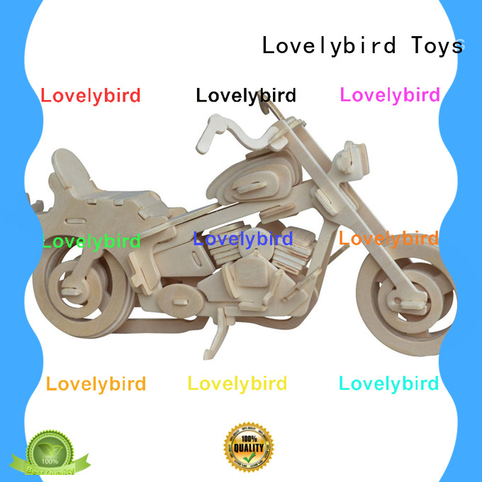 Lovelybird Toys new 3d wooden car puzzle factory for adults