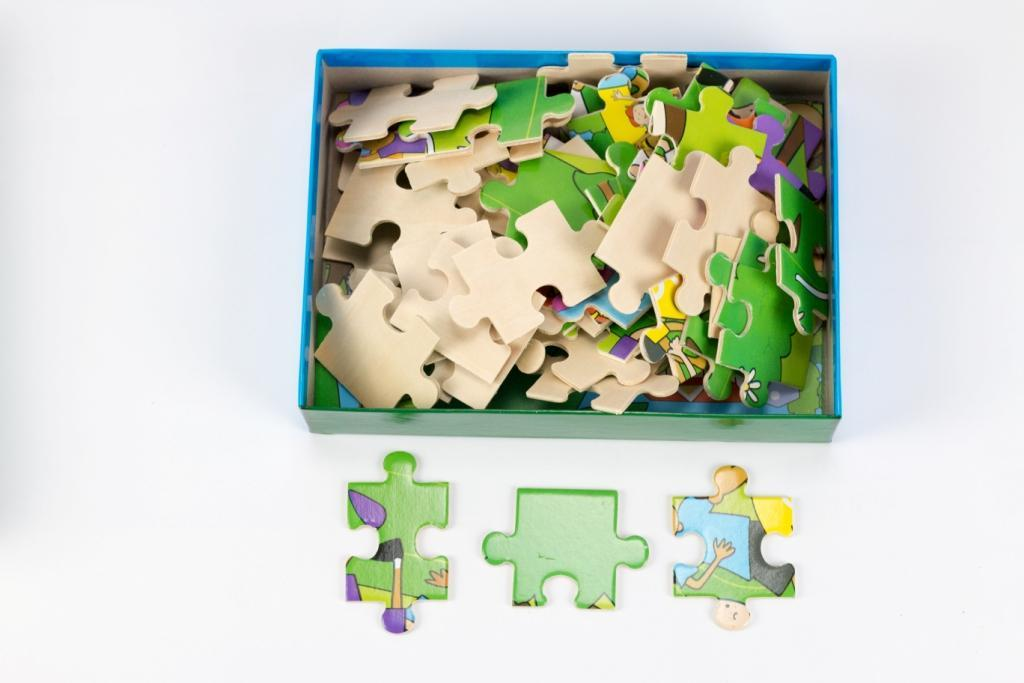 latest wooden puzzles for toddlers toy for sale-2