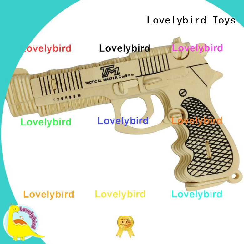 Lovelybird Toys high-quality 3d puzzle military suppliers for kids