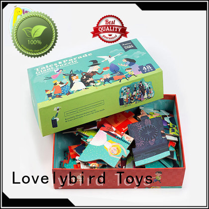 48 piece puzzle for games Lovelybird Toys