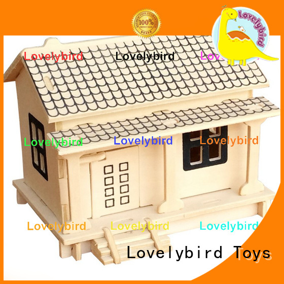 Lovelybird Toys top 3d wooden puzzle house company for business