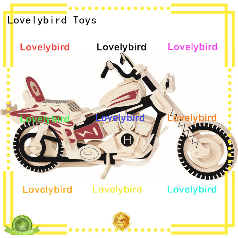 Lovelybird Toys 3d wooden puzzle car company for entertainment