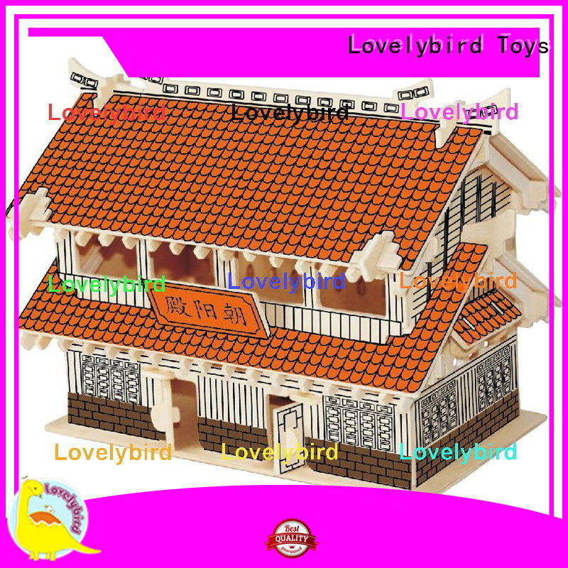 Lovelybird Toys top 3d building puzzle company for sale