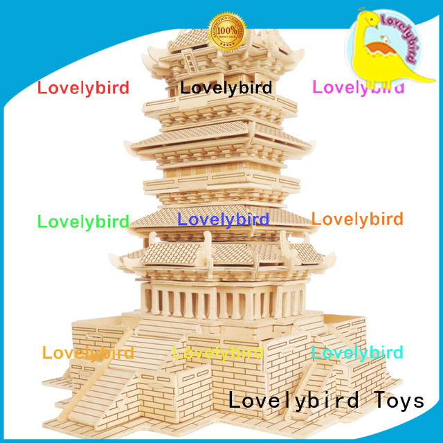 Lovelybird Toys 3d building puzzle company for present