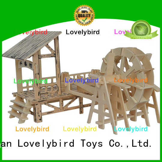 Lovelybird Toys top 3d wooden puzzle house factory for adults