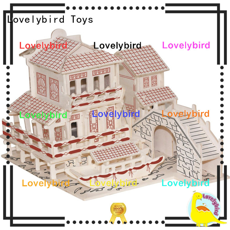 wholesale 3d building puzzle supply for adults