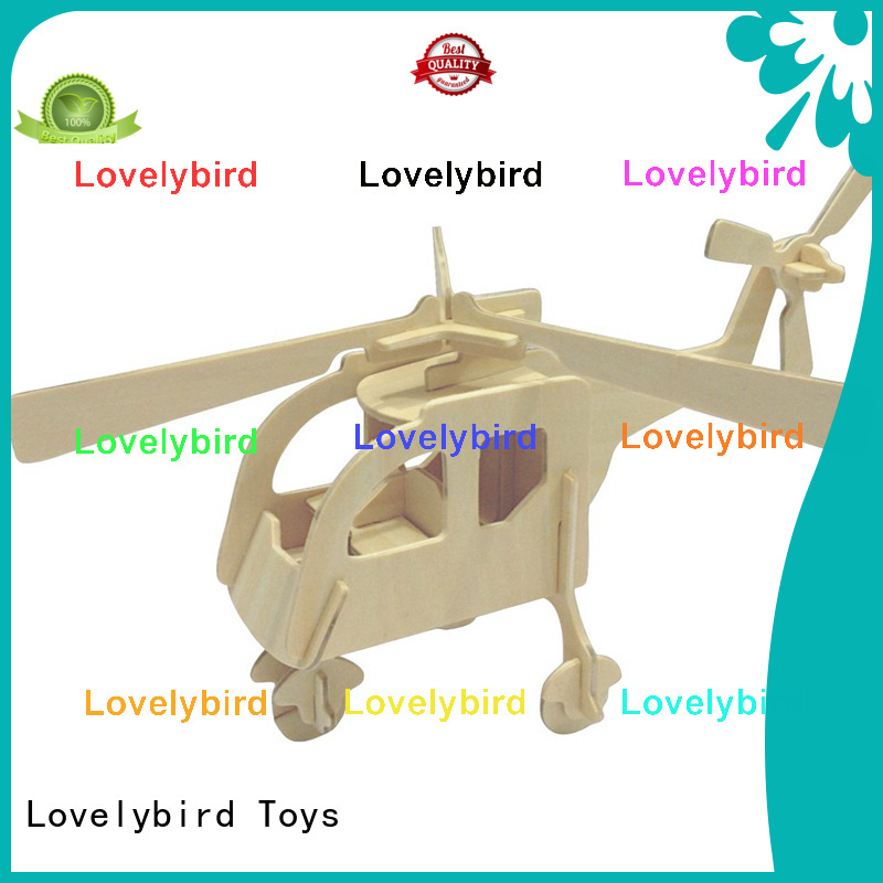 Lovelybird Toys 3d wooden car puzzle company for sale